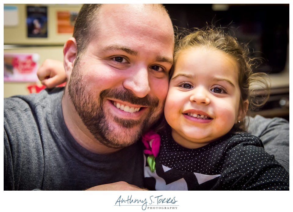 Photo of Photographer Anthony S. Torres and daughter Priya